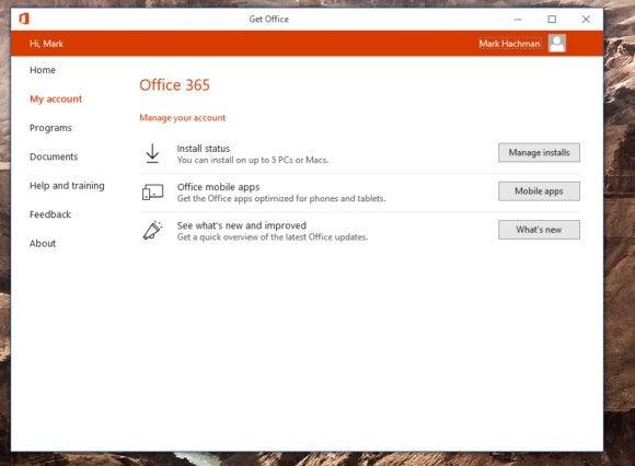 Windows 10 Creators Update Get Office