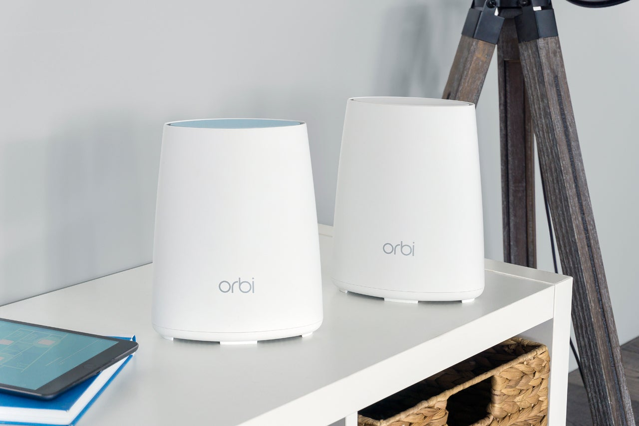 How To Ensure Your Home Network Are Primed For Cord Cutting Techhive Hardwiring Internet In House Orbi Rbk40