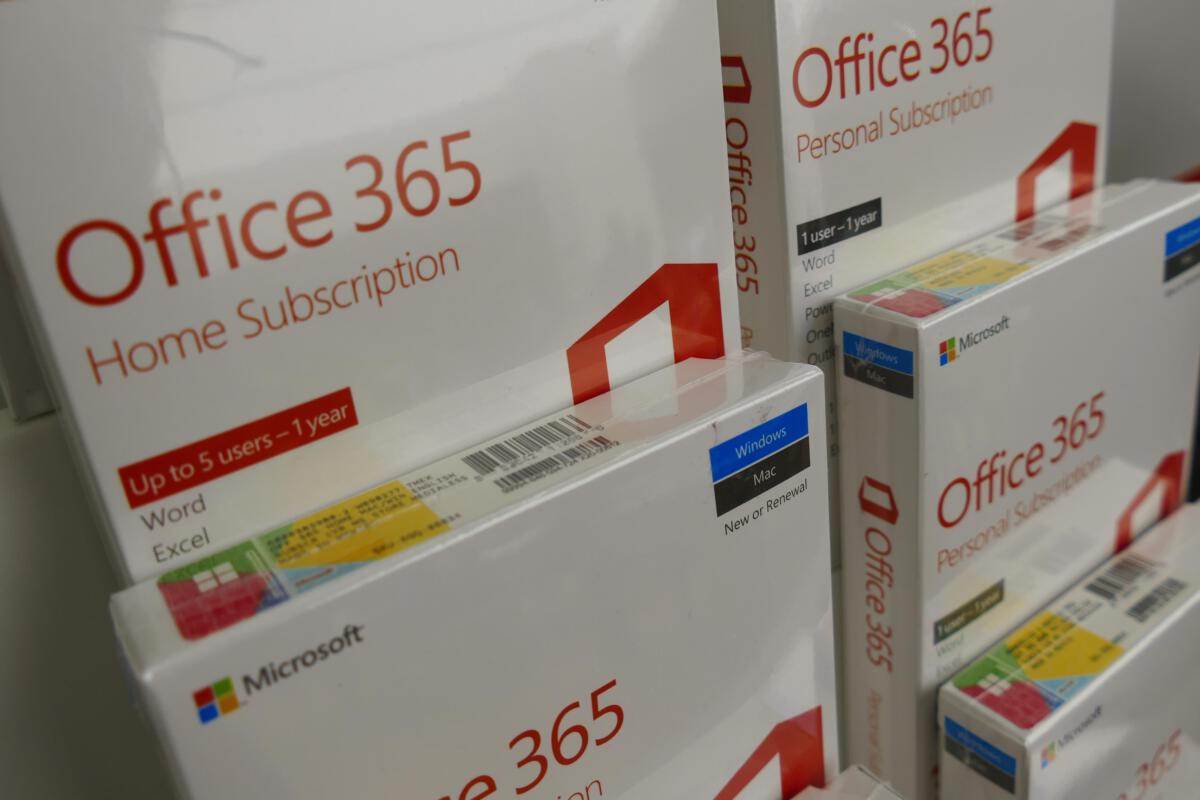 photo image Microsoft will cut services to standalone Office users so they'll subscribe to Office 365