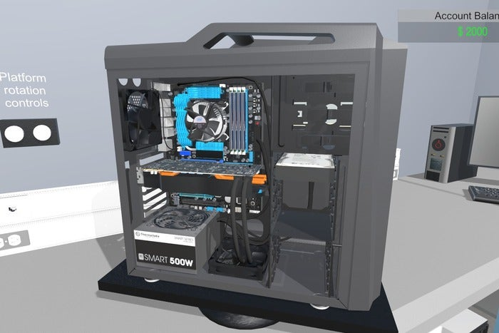 Meet pc building simulator a diy teaching tool that could for Online house builder simulator