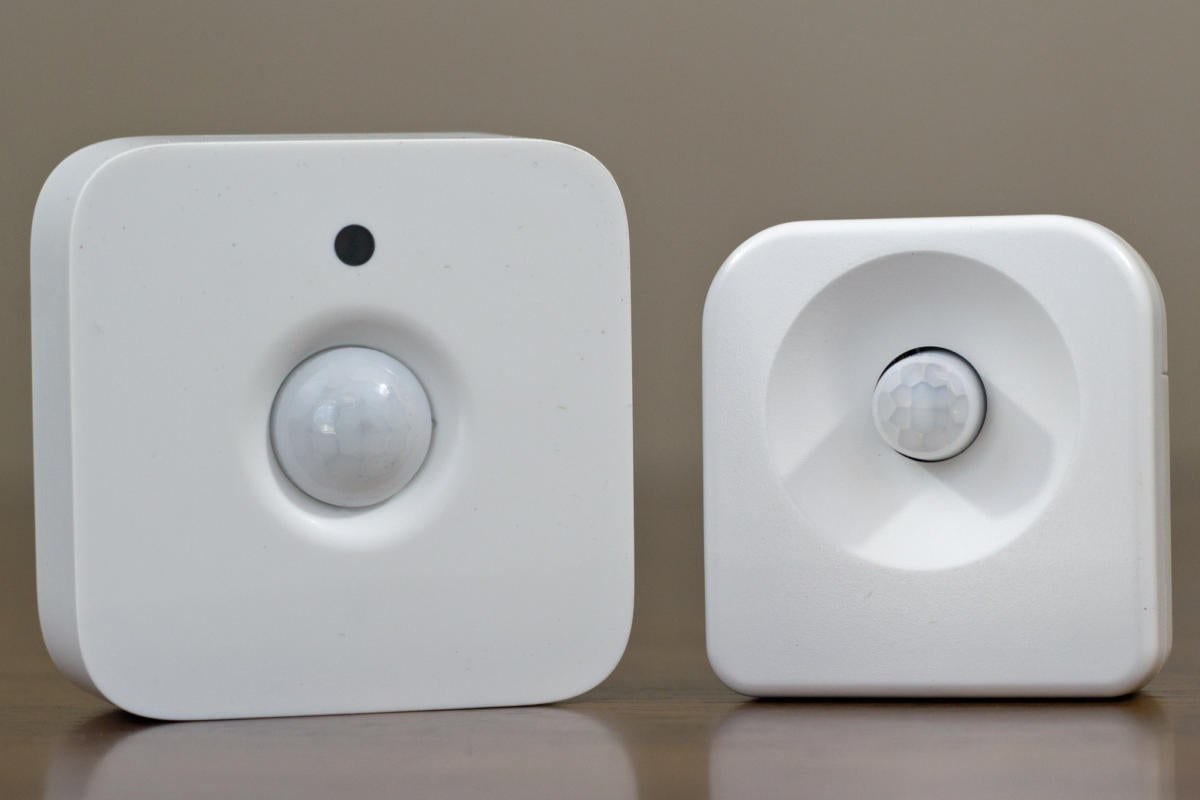 Philips Hue and Ledvance Sylvania Lightify motion sensors