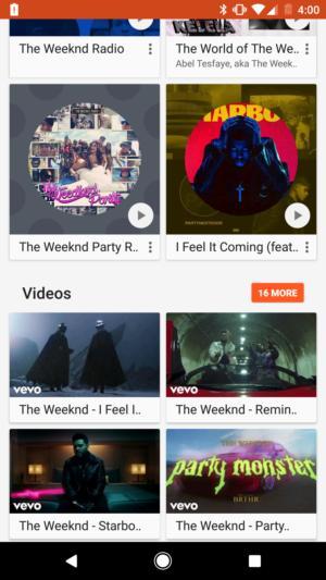 play music videos