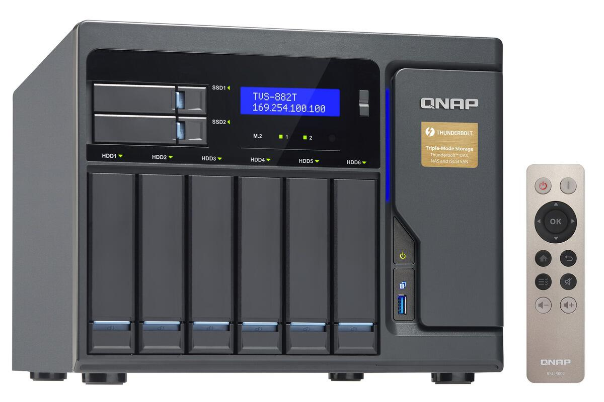 Review: QNAP TVS-882T NAS piles on the features | InfoWorld