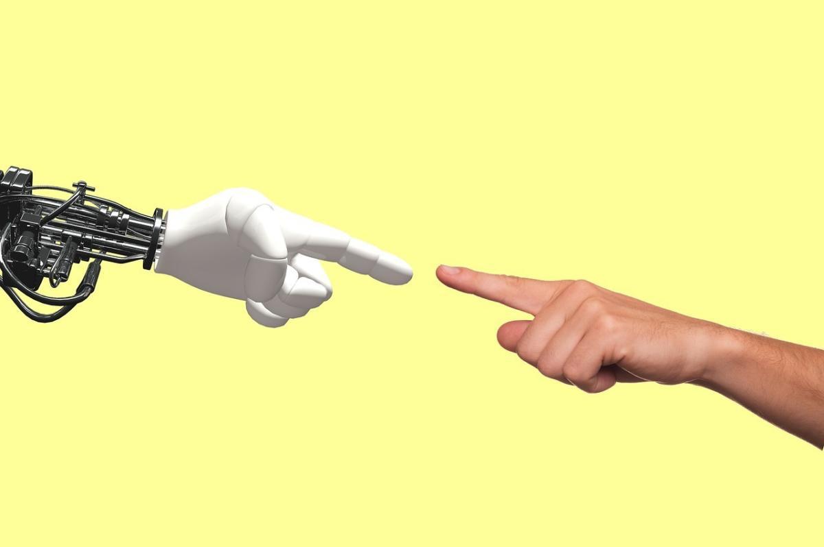 robot human meet