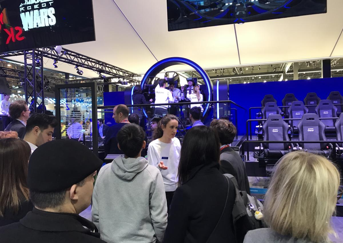 samsung vr at mwc