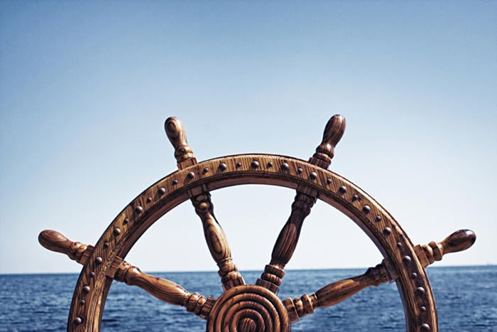 ship wheel captain leadership