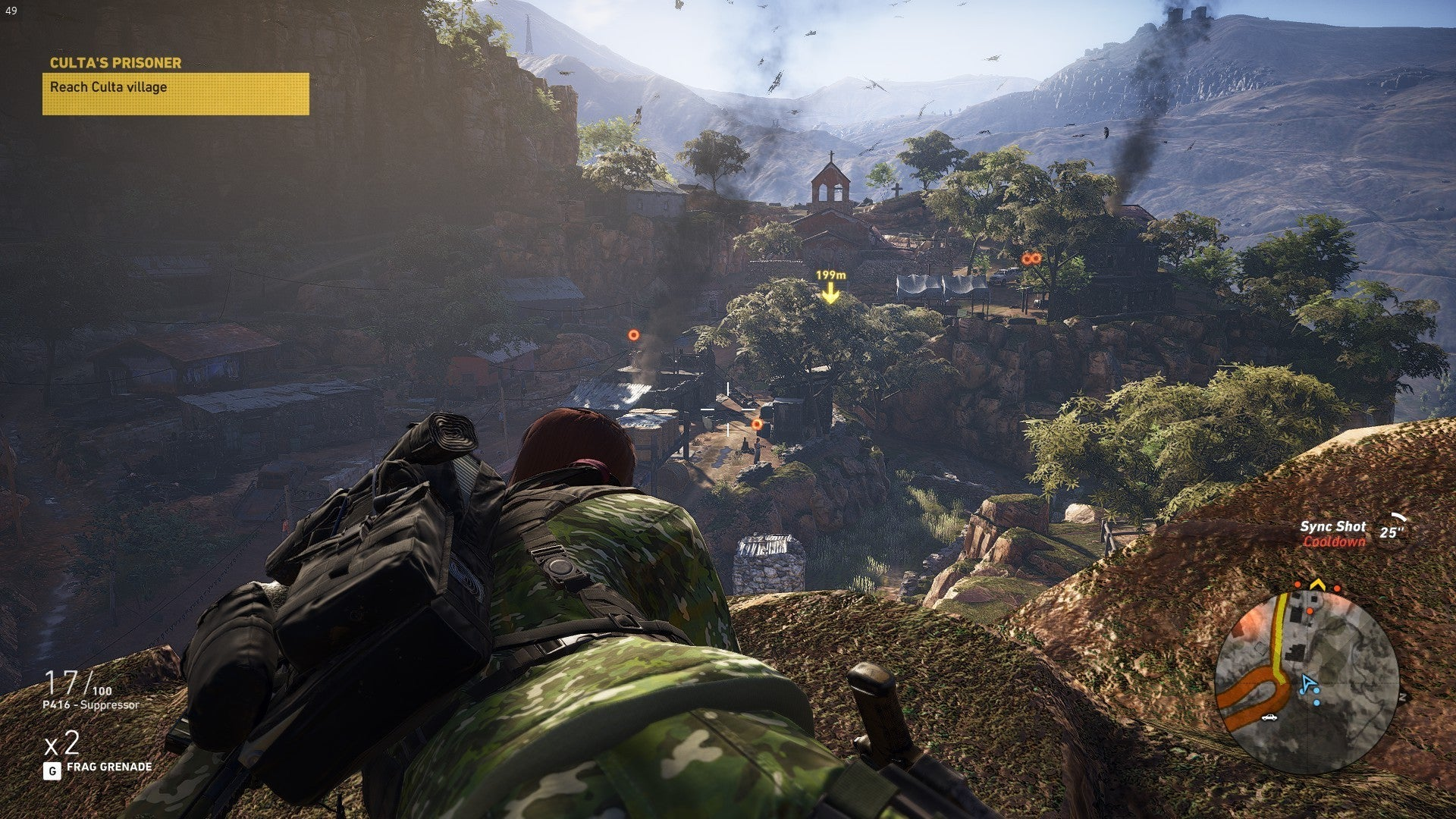 Ghost Recon Wildlands Karte.Ghost Recon Wildlands Review 400 Square Kilometers Of Emptiness