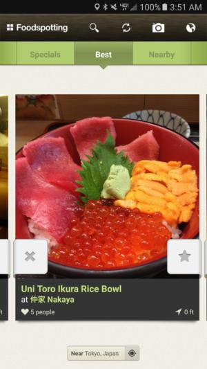 tourism apps foodspotting
