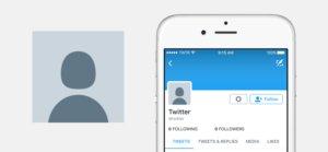 twitter default profile photo