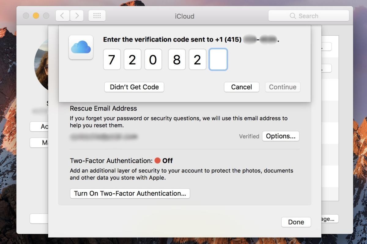 two factor mac sierra 2