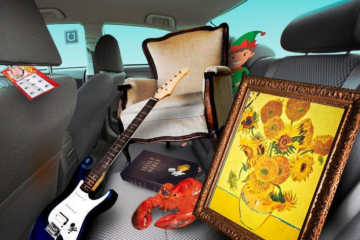 50 weirdest things left behind in Ubers (including rubber mallets and Harry Potter glasses)