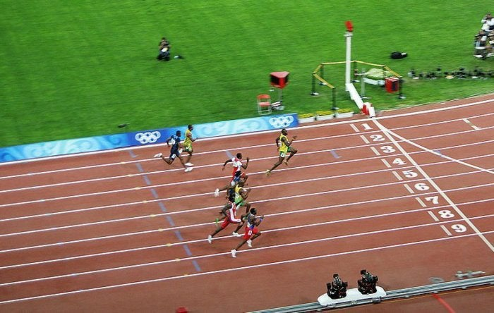 usain bolt winning fastest record