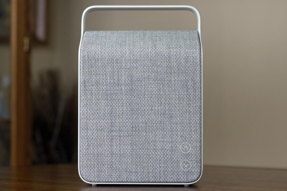Kết quả hình ảnh cho Vifa Oslo portable Bluetooth speaker