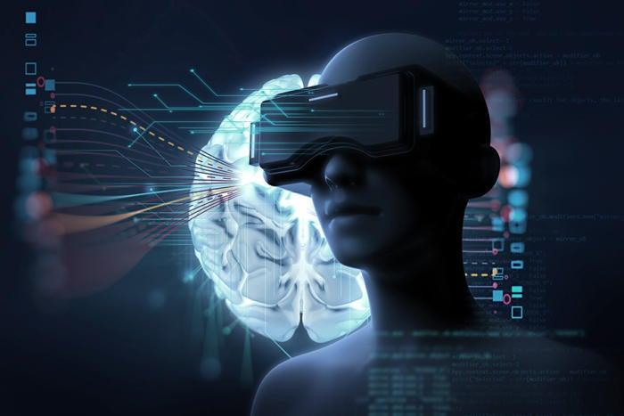 virtual reality robot