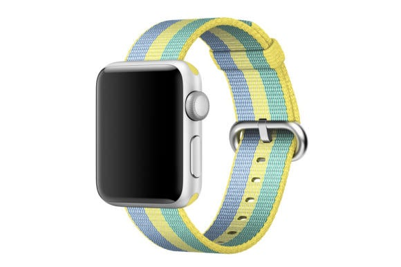 watch bands spring17 apple nylon