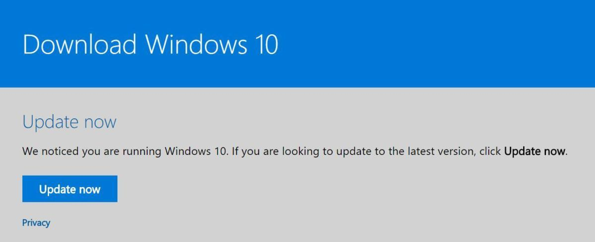 windows 10 update now
