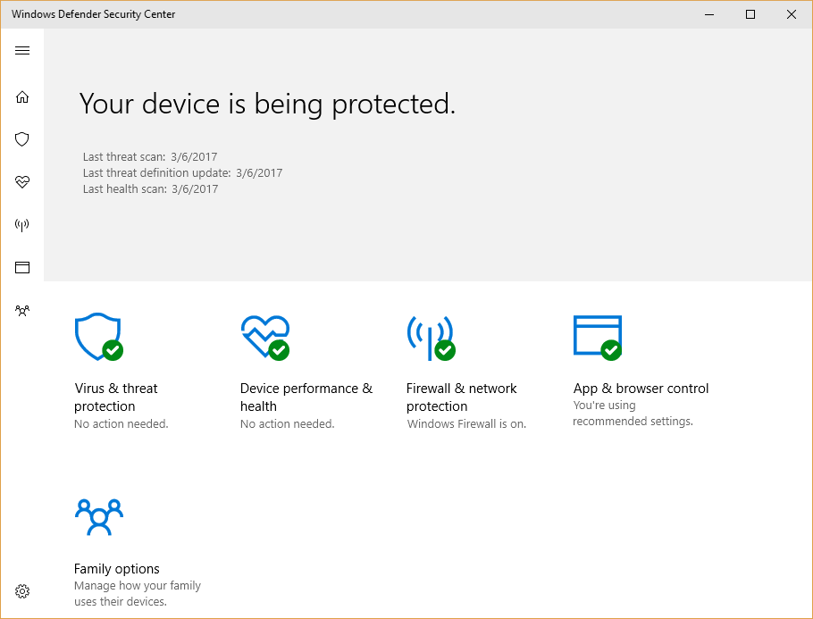 Get ready for the windows 10 creators update itworld for Window defender update