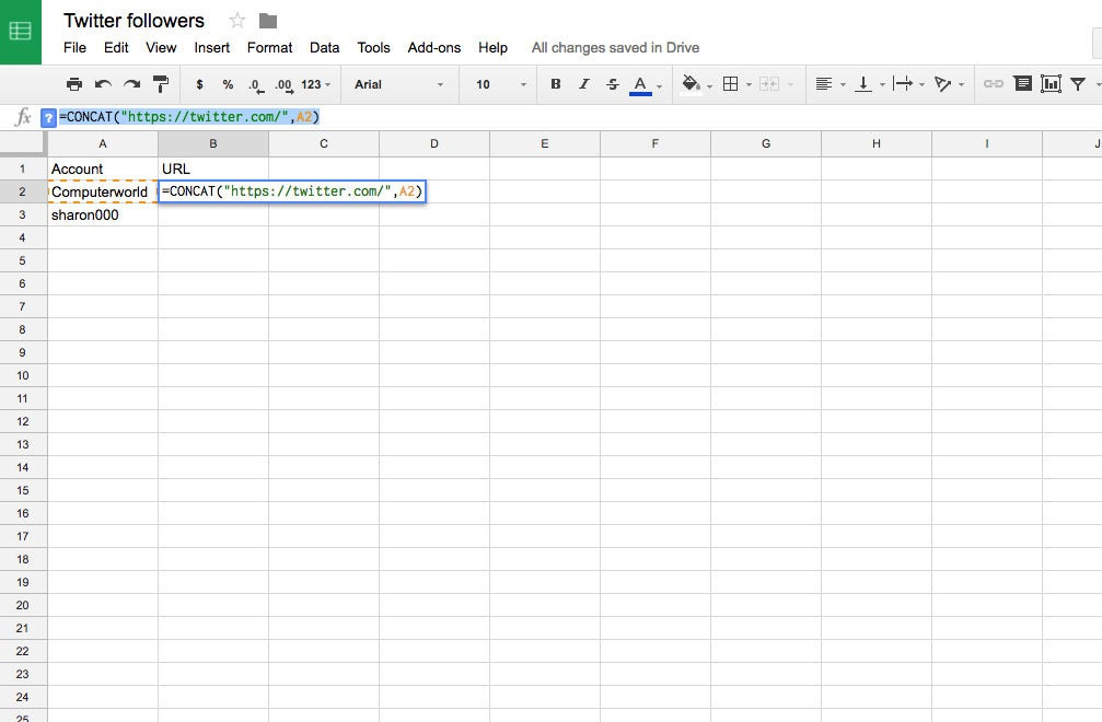 how to create an automatically updating google sheet computerworld