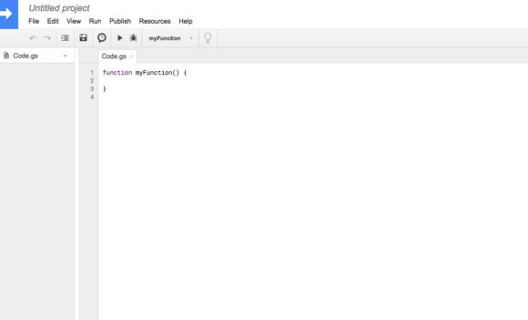 Google Sheets default function