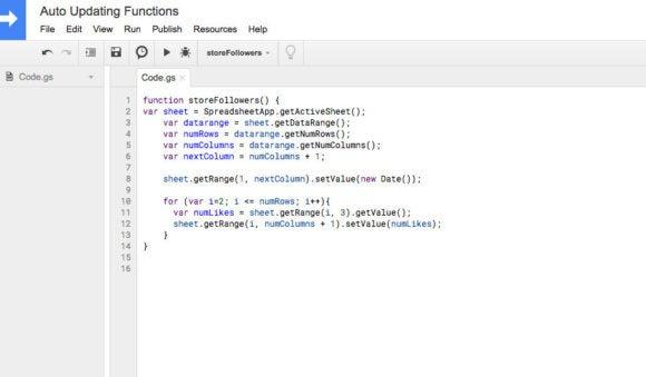 Full function code