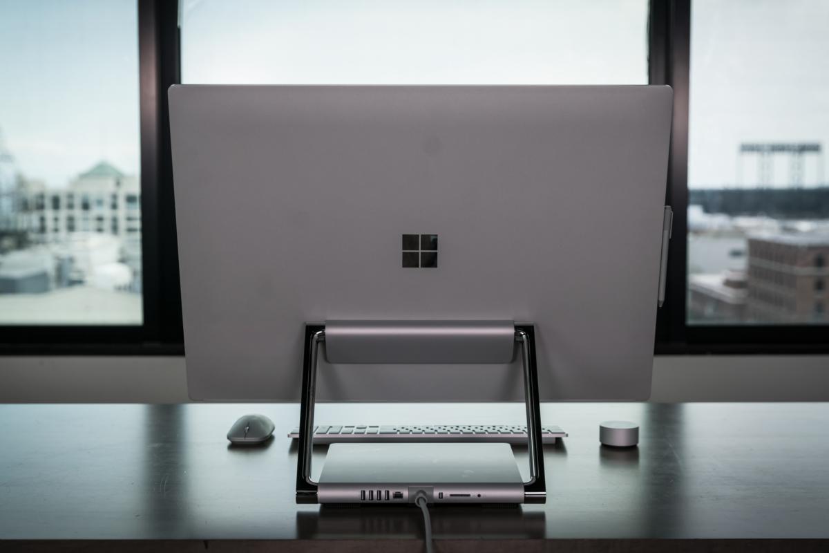 Microsoft Surface Studio rear