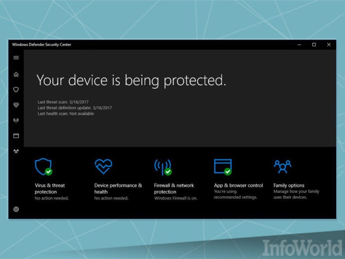 The sad story of Windows Defender