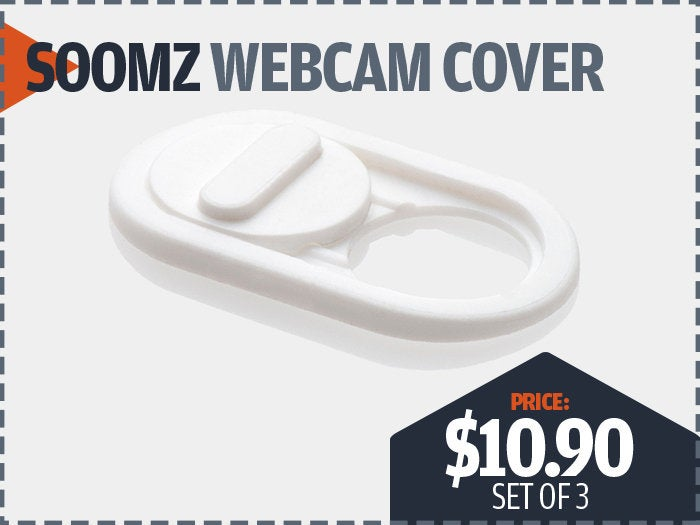 Webcam covers from Soomz
