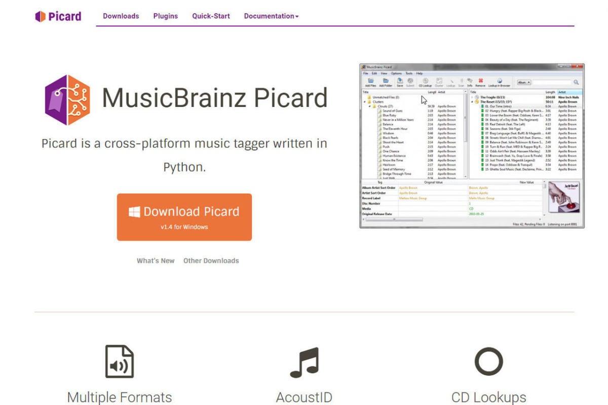 MusicBrainz Picard_2
