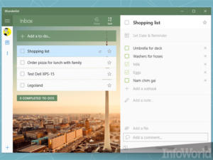 To-do gets to-done with Wunderlist