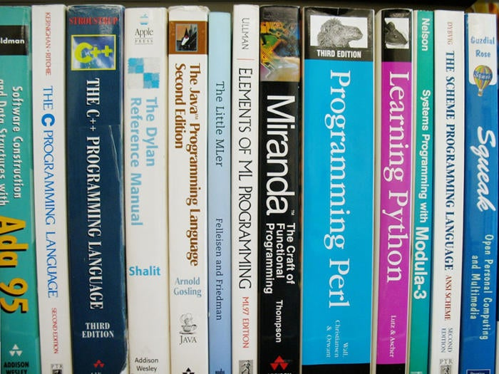 5 programming languages books