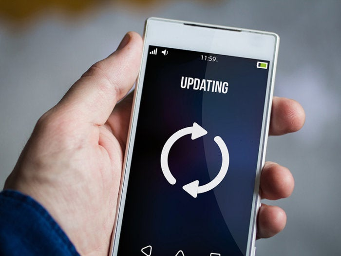 6 updating software mobile