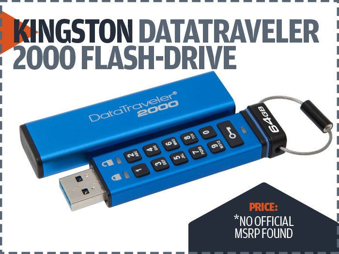 Kingston data traveler 2000