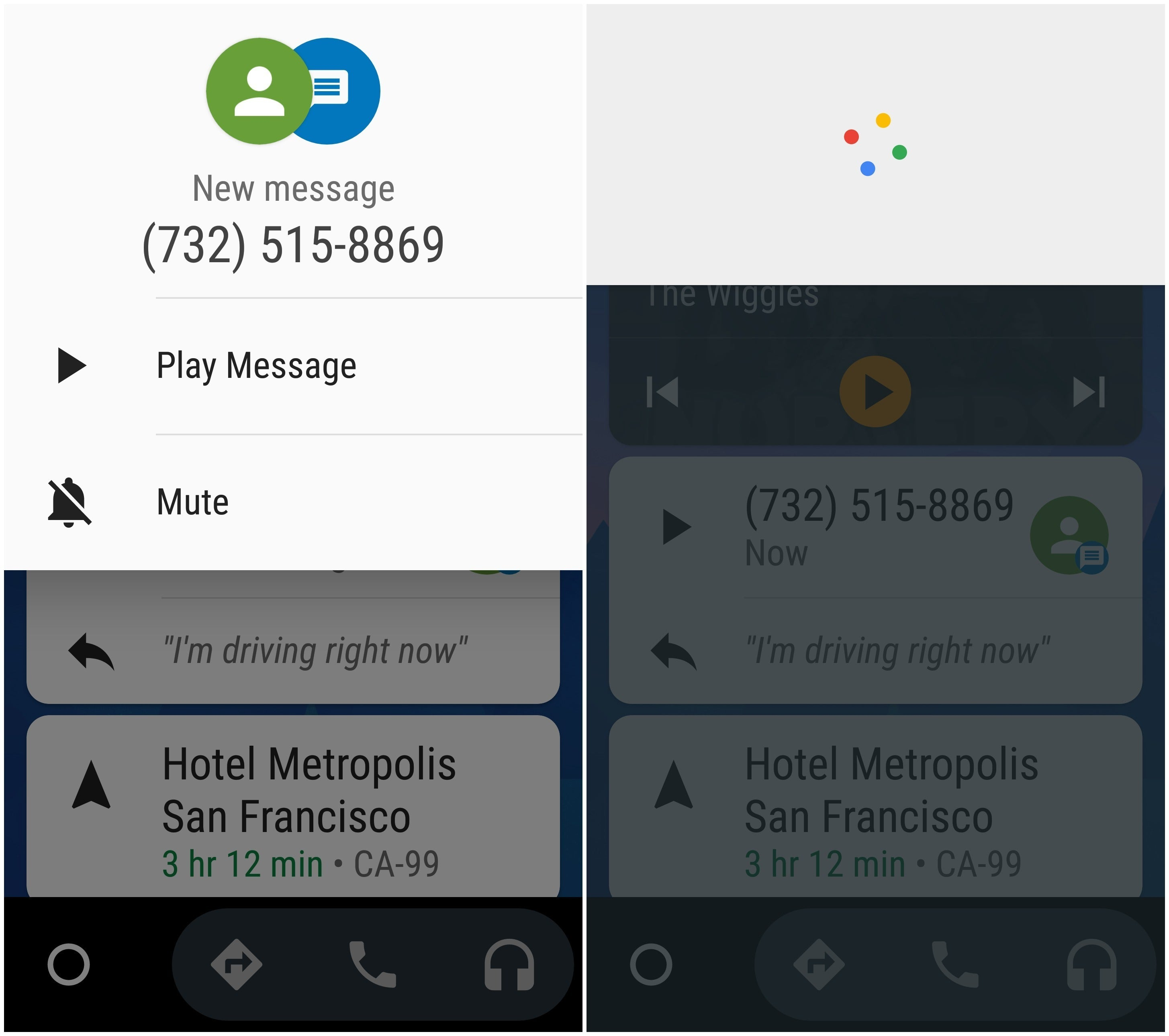 android voice recognition text messaging