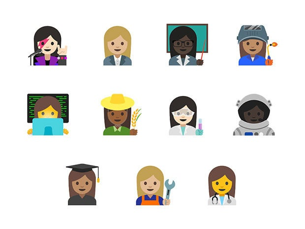 android skintones