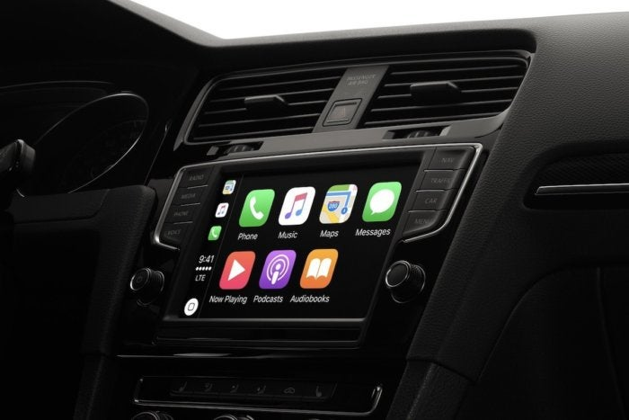 apple carplay stock