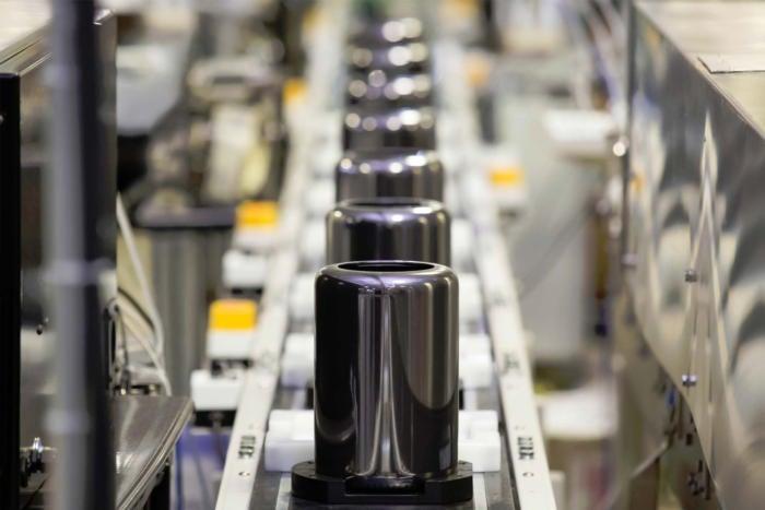 Apple Mac Pro assembly line