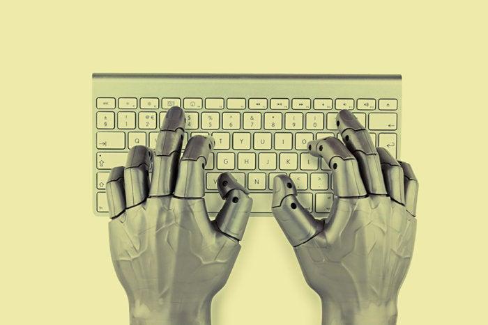 bot typing keyboard