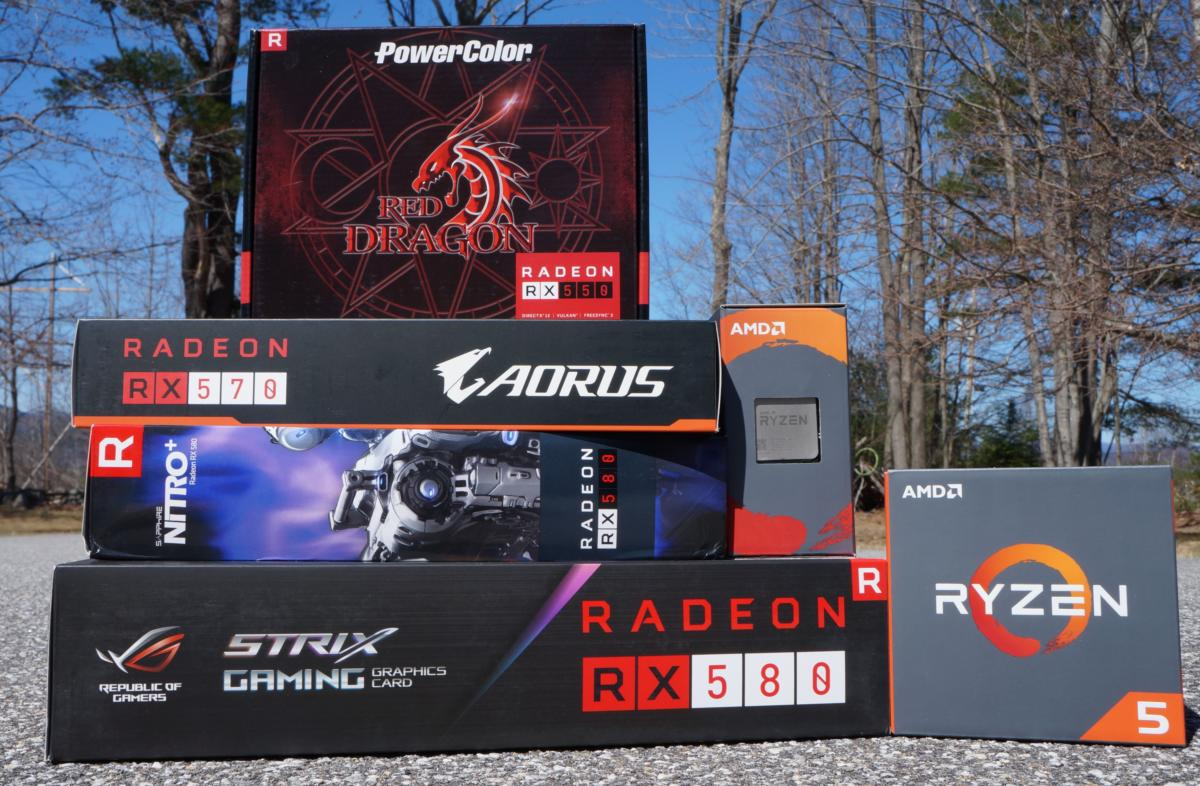 AMD's Radeon RX 500-series graphics cards are a faster