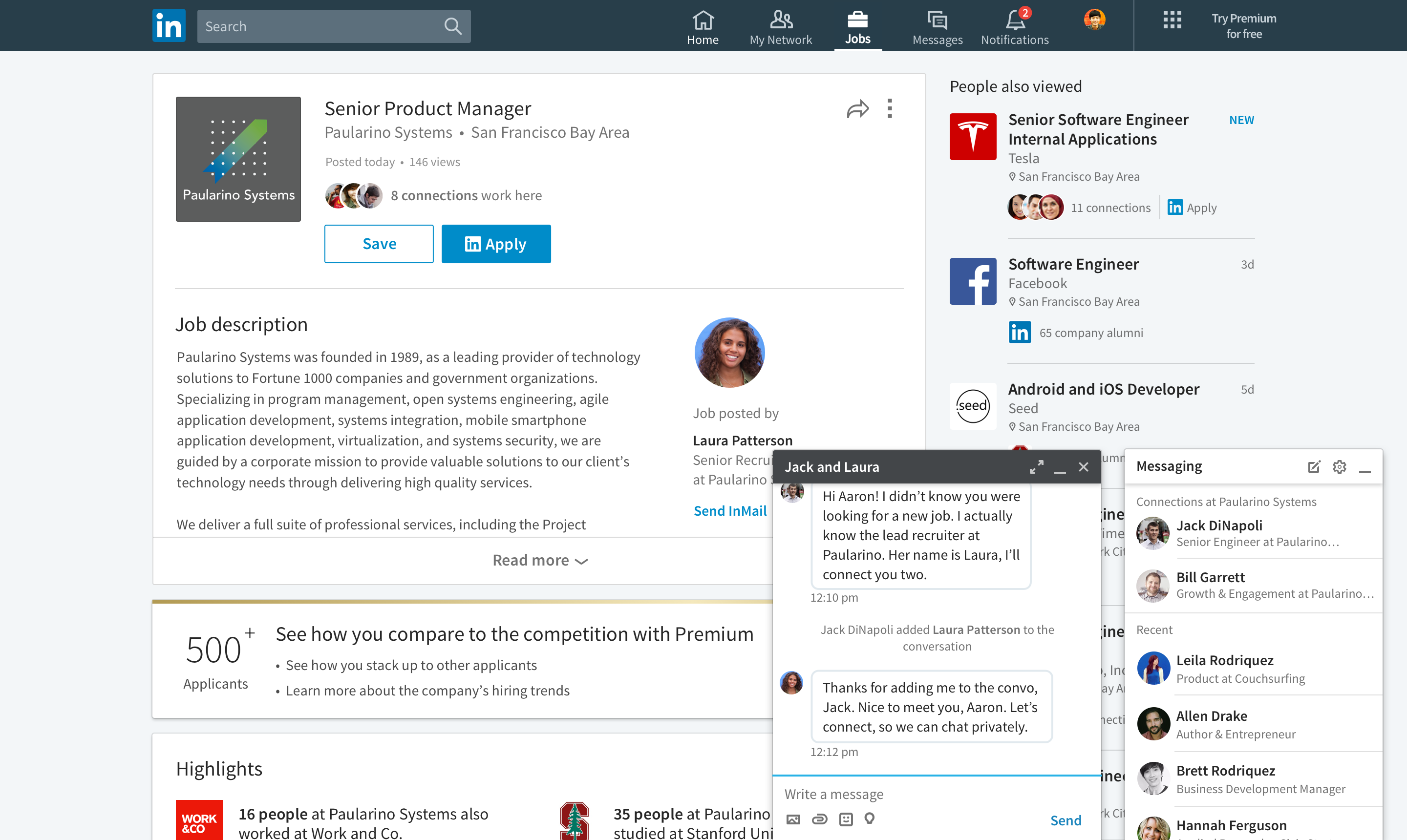 how to write an introduction message on linkedin