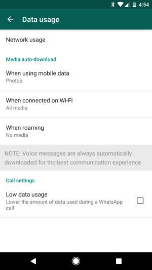 data usage