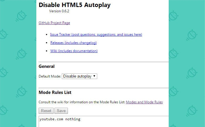 Disable Autoplay Videos Chrome Extension