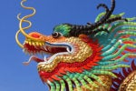 dragon statue head