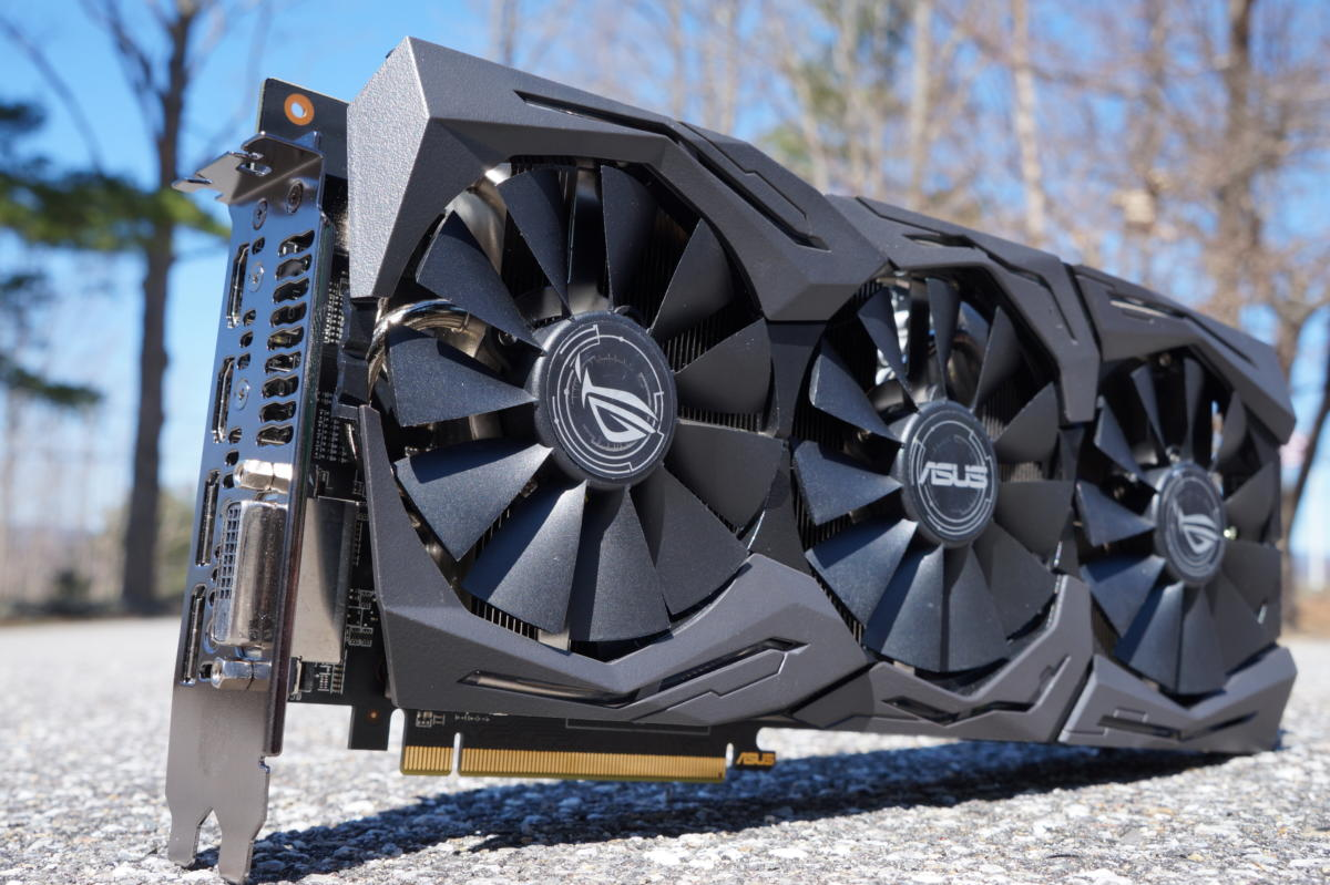 The beautifully over-engineered 8GB Asus ROG Strix Radeon RX