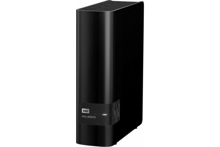 WD easystore 4TB hard drive