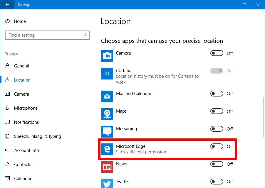 How to stop websites from asking for your location in Chrome, Edge