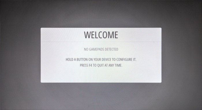 emulation station welcome