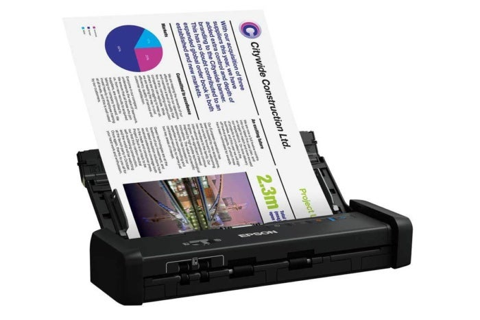 Epson DS 320 Review Portable Productivity Scanner Sans Wireless