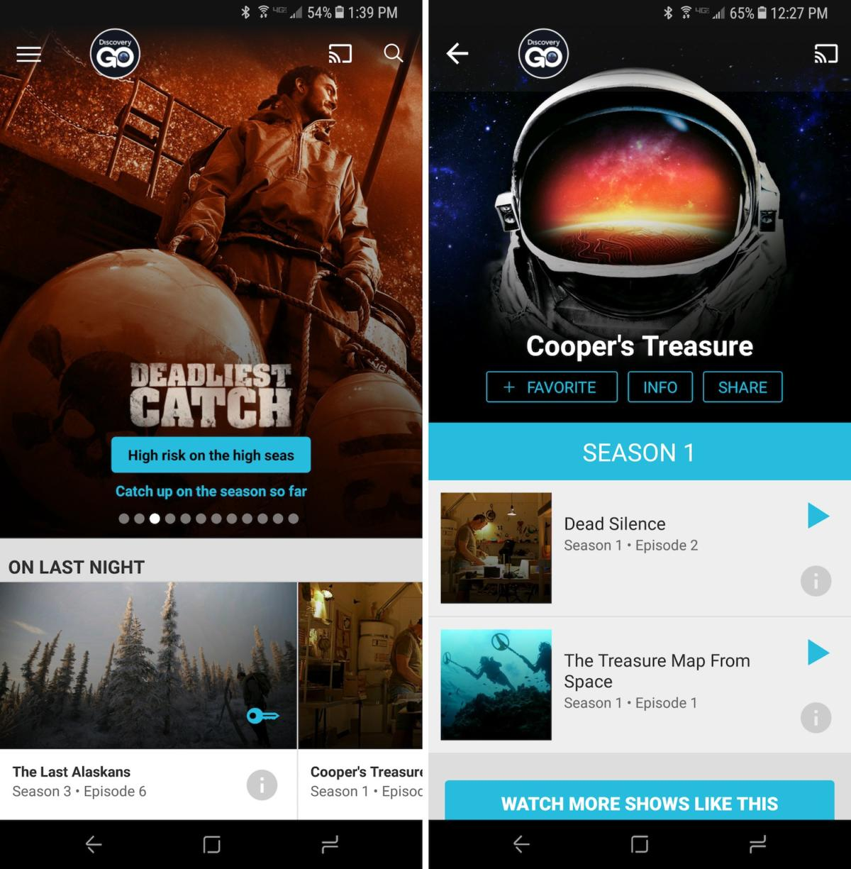 free tvapps discoverygo