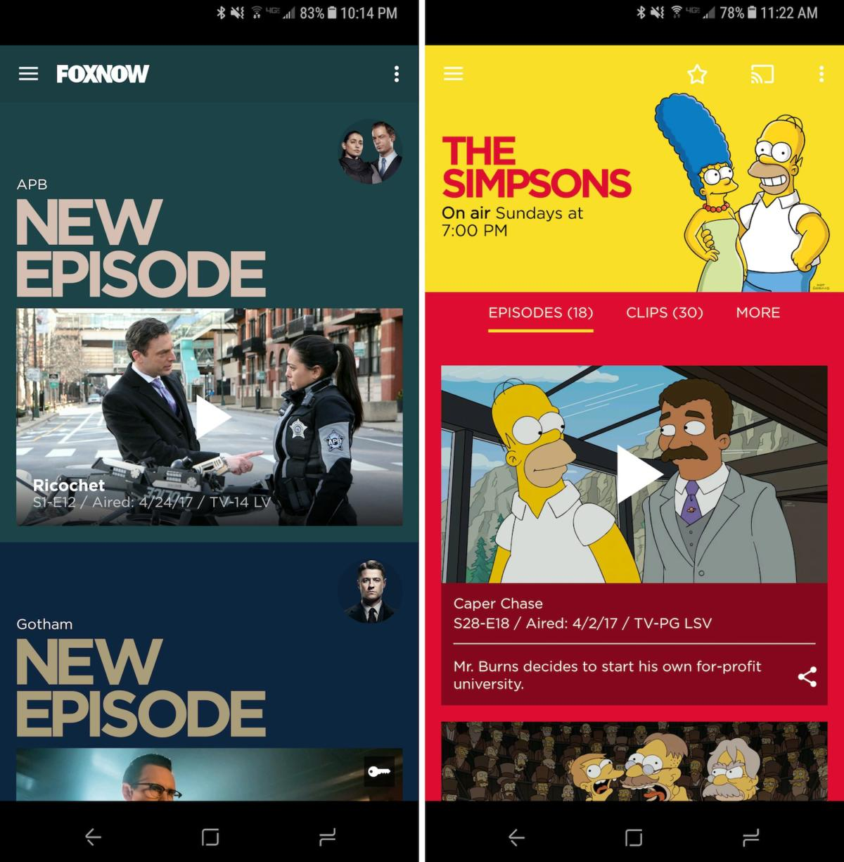 free tvapps foxnow