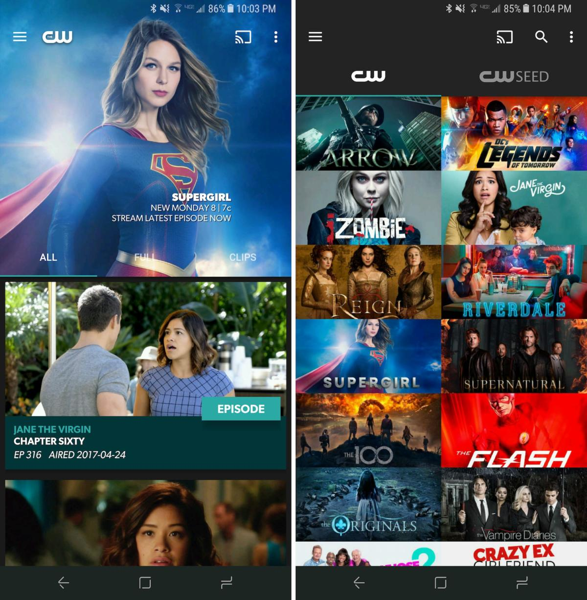 free tvapps thecw